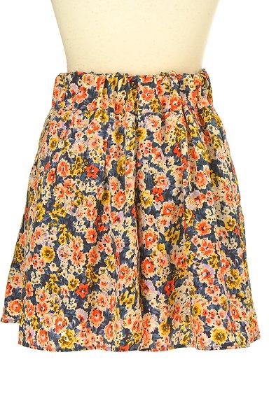 CLEAR IMPRESSION(クリアインプレッション)の古着「ウエストリボン花柄スカート(ショートパンツ・ハーフパンツ)」大画像2へ