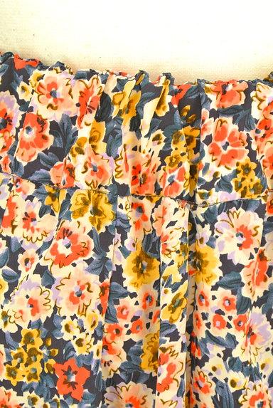 CLEAR IMPRESSION(クリアインプレッション)の古着「ウエストリボン花柄スカート(ショートパンツ・ハーフパンツ)」大画像5へ