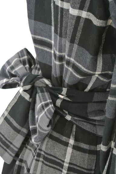 ROSSO(ロッソ)の古着「チェック柄ワンピース(ワンピース・チュニック)」大画像5へ
