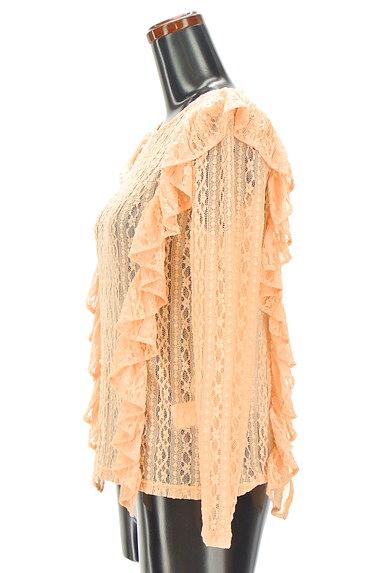 BEAMS Women's(ビームス ウーマン)の古着「フリルレーストップス(カットソー・プルオーバー)」大画像3へ