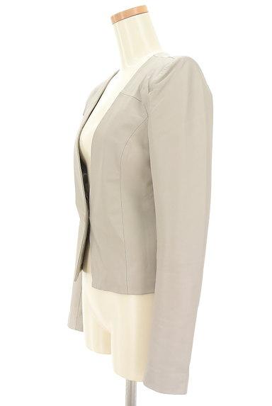 MURUA(ムルーア)の古着「ノーカラーラムジャケット(ジャケット)」大画像3へ