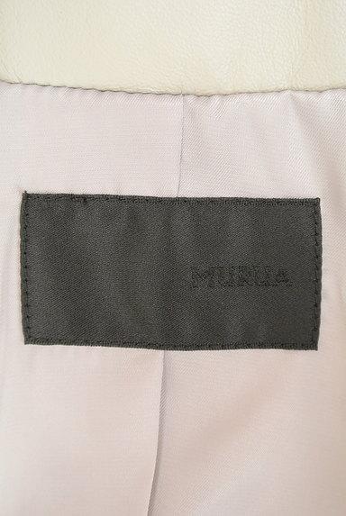 MURUA(ムルーア)の古着「ノーカラーラムジャケット(ジャケット)」大画像6へ