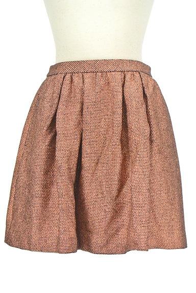 NOLLEY'S(ノーリーズ)の古着「ボリュームバックファスナースカート(ミニスカート)」大画像1へ