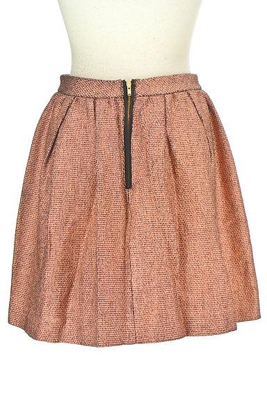 NOLLEY'S(ノーリーズ)の古着「ボリュームバックファスナースカート(ミニスカート)」大画像2へ