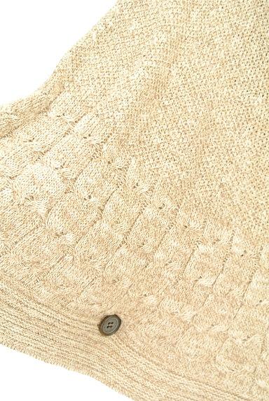 NOLLEY'S(ノーリーズ)の古着「ポンチョ風ニットカーディガン(カーディガン・ボレロ)」大画像4へ