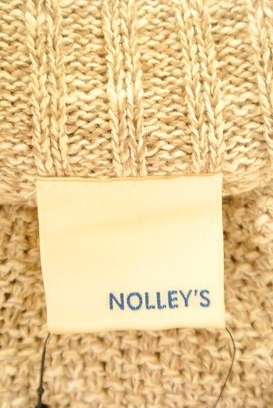 NOLLEY'S(ノーリーズ)の古着「ポンチョ風ニットカーディガン(カーディガン・ボレロ)」大画像6へ