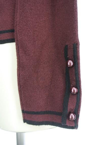 ANN TAYLOR(アンテイラー)の古着「パイピングジップアップカーディガン(カーディガン・ボレロ)」大画像4へ