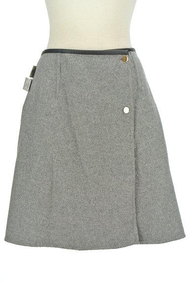 ROPE(ロペ)の古着「格子柄×無地リバーシブルスカート(ミニスカート)」大画像4へ