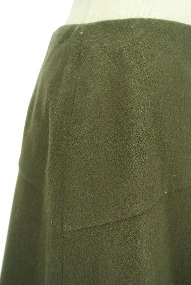 INDIVI(インディヴィ)の古着「アシンメトリー切替ミニスカート(ミニスカート)」大画像4へ