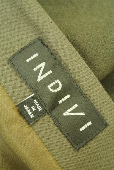 INDIVI(インディヴィ)の古着「アシンメトリー切替ミニスカート(ミニスカート)」大画像6へ