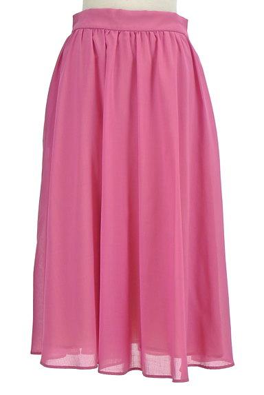 Tiara(ティアラ)の古着「ミモレ丈ギャザーフレアスカート(ロングスカート・マキシスカート)」大画像1へ