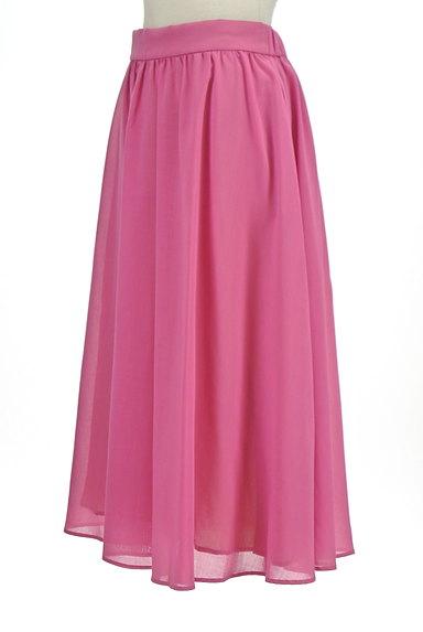Tiara(ティアラ)の古着「ミモレ丈ギャザーフレアスカート(ロングスカート・マキシスカート)」大画像3へ