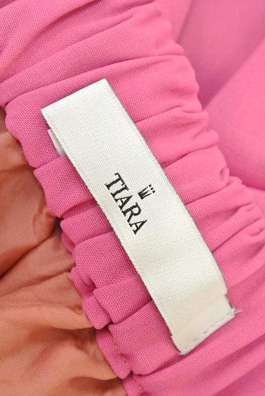 Tiara(ティアラ)の古着「ミモレ丈ギャザーフレアスカート(ロングスカート・マキシスカート)」大画像6へ