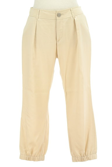INDIVI(インディヴィ)の古着「裾ギャザー入りパンツ(パンツ)」大画像1へ