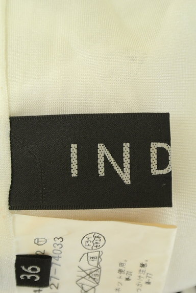 INDIVI(インディヴィ)の古着「ボーダータイトスカート(ミニスカート)」大画像6へ