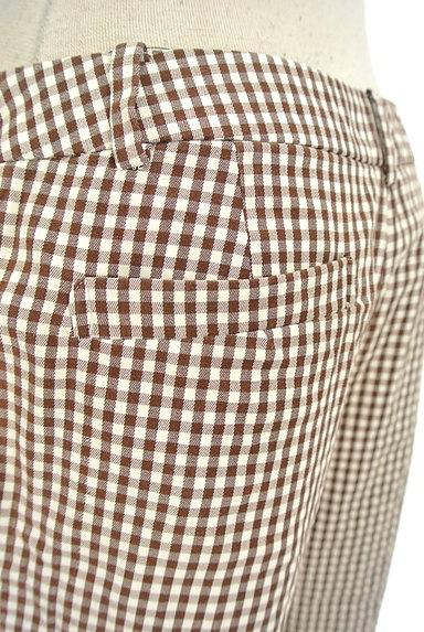 fredy(フレディ)の古着「チェック柄フレアクロップドパンツ(パンツ)」大画像5へ