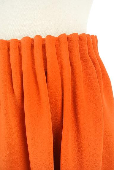 Stola.(ストラ)の古着「膝下丈微光沢フレアスカート(スカート)」大画像4へ