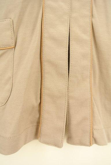 Stola.(ストラ)の古着「ノーカラー微光沢コットンジャケット(カーディガン・ボレロ)」大画像5へ
