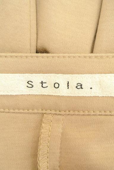 Stola.(ストラ)の古着「ノーカラー微光沢コットンジャケット(カーディガン・ボレロ)」大画像6へ