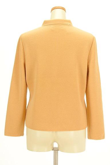 CORDIER(コルディア)の古着「襟付き比翼ニットカーディガン(カーディガン・ボレロ)」大画像2へ