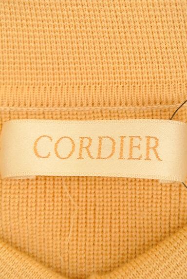 CORDIER(コルディア)の古着「襟付き比翼ニットカーディガン(カーディガン・ボレロ)」大画像6へ