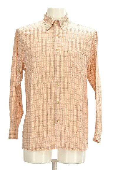 ARAMIS(アラミス)の古着「ワンポイント刺繍チェック柄シャツ(カジュアルシャツ)」大画像1へ