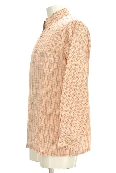 ARAMIS(アラミス)の古着「ワンポイント刺繍チェック柄シャツ(カジュアルシャツ)」大画像3へ