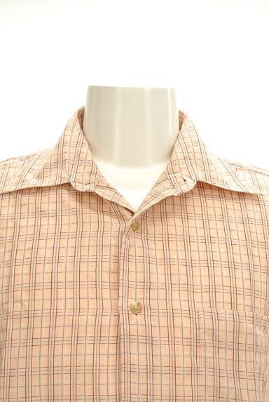 ARAMIS(アラミス)の古着「ワンポイント刺繍チェック柄シャツ(カジュアルシャツ)」大画像4へ