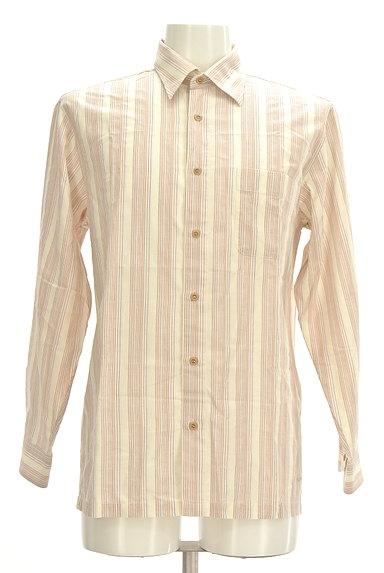 ARAMIS(アラミス)の古着「ストライプ柄コットンシャツ(カジュアルシャツ)」大画像1へ