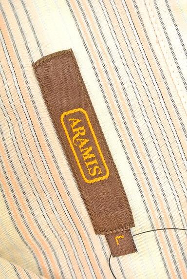 ARAMIS(アラミス)の古着「ストライプ柄コットンシャツ(カジュアルシャツ)」大画像6へ
