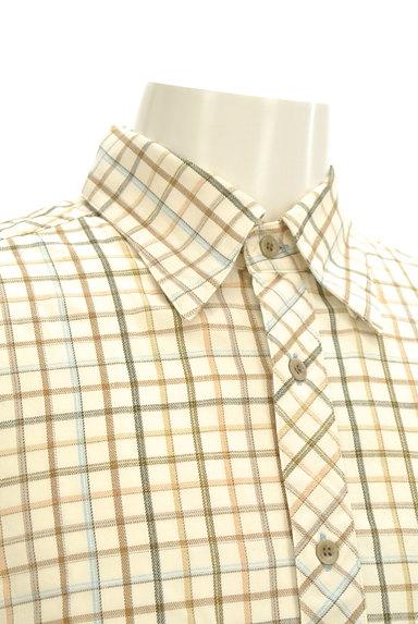 ARAMIS(アラミス)の古着「チェック柄フランネルシャツ(カジュアルシャツ)」大画像4へ