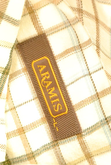 ARAMIS(アラミス)の古着「チェック柄フランネルシャツ(カジュアルシャツ)」大画像6へ