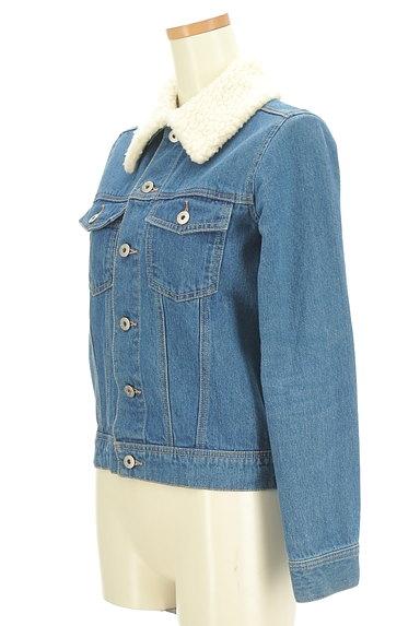AG by aquagirl(エージーバイアクアガール)の古着「ボア襟Gジャン(ジャケット)」大画像3へ