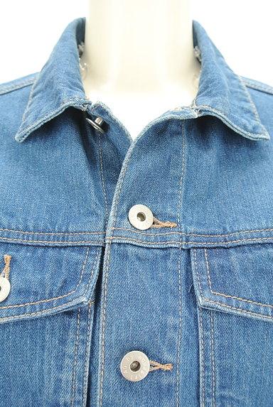 AG by aquagirl(エージーバイアクアガール)の古着「ボア襟Gジャン(ジャケット)」大画像4へ