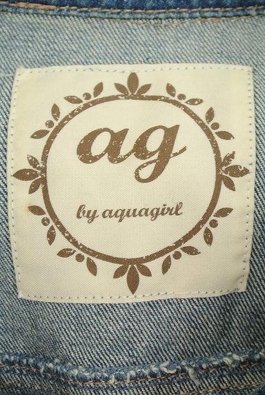 AG by aquagirl(エージーバイアクアガール)の古着「ボア襟Gジャン(ジャケット)」大画像6へ