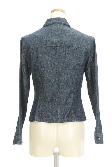 L'EST ROSE(レストローズ)の古着「花刺繍デニムジャケット(ジャケット)」大画像2へ