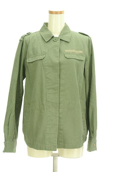 MERCURYDUO(マーキュリーデュオ)の古着「ミリタリージャケット(ブルゾン・スタジャン)」大画像1へ