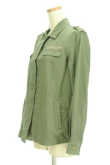 MERCURYDUO(マーキュリーデュオ)の古着「ミリタリージャケット(ブルゾン・スタジャン)」大画像3へ