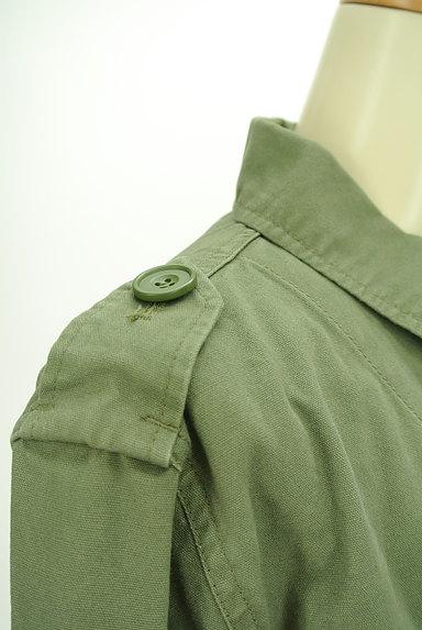 MERCURYDUO(マーキュリーデュオ)の古着「ミリタリージャケット(ブルゾン・スタジャン)」大画像4へ