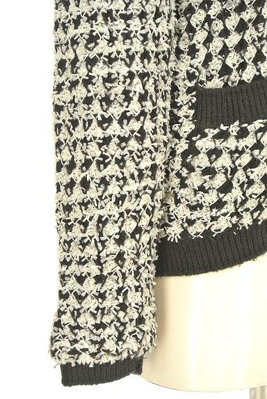 MURUA(ムルーア)の古着「ノーカラーニットジャケット(カーディガン・ボレロ)」大画像5へ