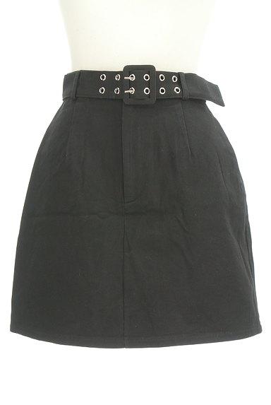 EMODA(エモダ)の古着「ベルト付き台形ミニスカート(ミニスカート)」大画像1へ