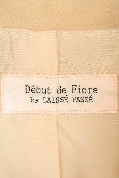Debut de Fiore by LAISSE PASSE(デビュー・ド・フィオレ)の古着「袖ファーショートコート(コート)」大画像6へ