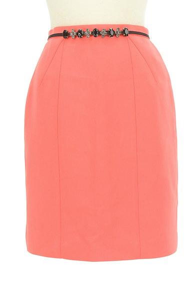 JUSGLITTY(ジャスグリッティー)の古着「ベルトデザインタイトミニスカート(スカート)」大画像1へ