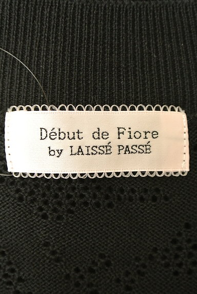 Debut de Fiore by LAISSE PASSE(デビュー・ド・フィオレ)の古着「総フラワーレースボレロ(カーディガン・ボレロ)」大画像6へ
