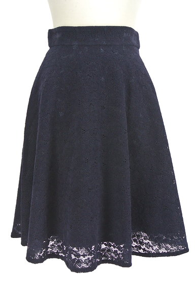 PROPORTION BODY DRESSING(プロポーションボディ ドレッシング)の古着「総レース膝丈スカート(スカート)」大画像1へ