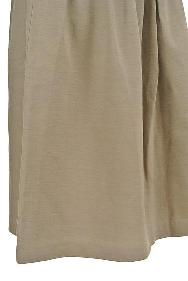 NATURAL BEAUTY(ナチュラルビューティ)の古着「膝丈リネンスカート(スカート)」大画像5へ
