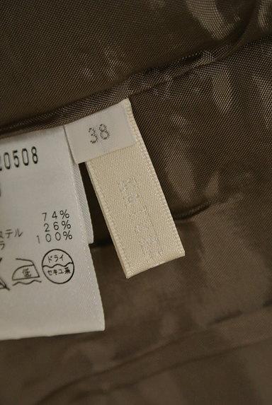 NATURAL BEAUTY(ナチュラルビューティ)の古着「膝丈リネンスカート(スカート)」大画像6へ
