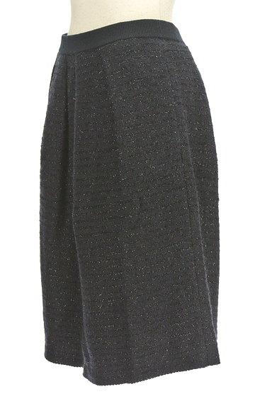 NATURAL BEAUTY(ナチュラルビューティ)の古着「ミドル丈ラメ×ウールスカート(スカート)」大画像3へ