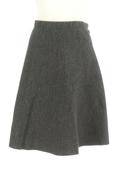 NATURAL BEAUTY(ナチュラルビューティ)の古着「ウールフレアスカート(スカート)」大画像1へ