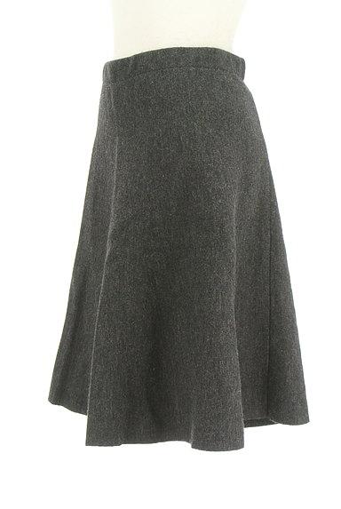 NATURAL BEAUTY(ナチュラルビューティ)の古着「ウールフレアスカート(スカート)」大画像3へ